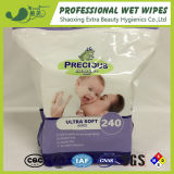 Zipper Pack Baby Wipes 240 PCS Alcohol Free