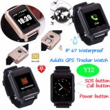 1.54 TFT Touch Screen Waterproof Elderly GPS Tracker Watch Y12