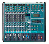 Green Colour 8 Channels Audio Mixer Lnx-8
