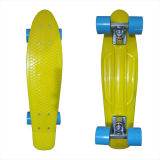 22inch PP Mini Skateboard Cruiser Complete Skateboards Banana Skateboard Yellow Design-40
