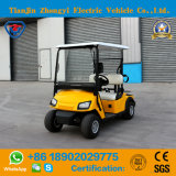 2 Seater Yellow Golf Car for Golf Course