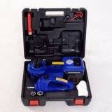Blue Color Multifunction Electric Car Jack Set with Impact Wrench and Inflating Air Pump