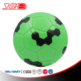 Shiny Green Color Size 5 Machine Stitched Football