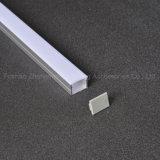 19*14mm Surface Aluminium LED Profile Extrusion Forled Strip Lighting