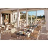 Modern Lobby Hotel Chair Furniture Weaving Rattan SD4008