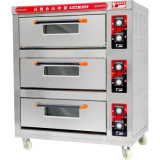 3 Deck 6 Trays Electric Baking Oven Machine with Commercial Catering Equipment