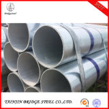 Non-Alloy ISO. BV Pre Galvanized Round Pipe, Galvanised Steel Pipe in Steel Best
