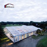 Large Marquee Transparent PVC Wedding Tent Clear Roof Party Tent 500 People Outdoor Event Tent