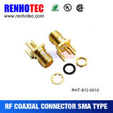 SMA PCB Mount Female Connector for TV Antenna