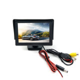 4.3inch TFT LCD Car Rearview Backup Monitor 2 Video Inputs