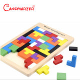 Tetris Intelligence Blocks Wooden Educational Toys