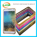 Shockproof Metal Hippocampal Buckle Bumper Case for Samsung J7