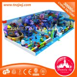 Factory Price Kids Ocean Soft Playground with Long Slide Competitive Indoor Maze Game