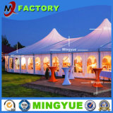 High Quality Fireproof Waterproof Trade Show Top Grade Glass Wall Classic Beatiful New Design White Outdoor Big Aluminum Wedding Party Tent