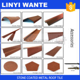 Accessories for Building Material Stone Coated Metal Roof Tile