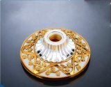 E27 Lamp Holder with Golden Plate