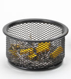 Desk Items/ Metal Mesh Stationery Pencil Holder/ Office Desk Accessories