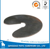 Stamping Punching Steel Plate with Round Type
