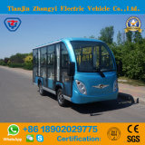 Factory Direct Sales of 11 Closed Blue Electric Sightseeing Car