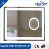 Modern Illuminated LED Light Bathroom Mirror with Ce Approval