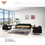 Modern Leisure Office Fabric Sofa with Metal Leg (HY-S029)