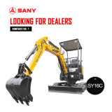 Sany Sy16c 1.75 Ton Hydraulic Earth Mover Mini Excavator
