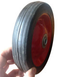 "7 Inch 7""X1.5"" Semi Pneumatic Rubber Trolley Wheel"