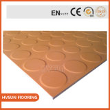 Natural Rubber Flooring No Smell Health Flooring for Weight Lifting Platform Fitness