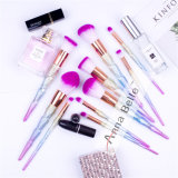 PRO Diamond Cosmetic Face Brush Set Colorful Make up Brushes Beauty Tools Wholesale