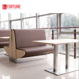 High Quality Modern Restaurant Booth Seating Anchor to Floor