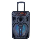 "12"" High Power Professional Karaoke Music Party Outdoor Audio Trolley Bluetooth PA Speaker and Bluetooth Multimedia Sound System"