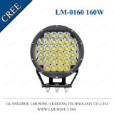 Round 8 Inch 160W Offroad LED Driving Light CREE Spot Flood Lamp