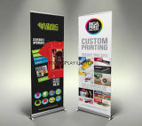 Customed Single Double Side Graphics Printed Promotional Retractable Pull up Roll up Banner Display Stand