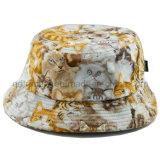 Animal Print Plain Cloth Woman Leisure Bucket Hat (TRTBH13030)