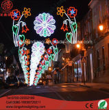 Energy Saving LED Arch Christmas/National Day/New Year Street Holiday Lighting