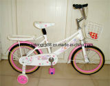 White Lady BMX Bik with Full Steel Chain Cover (SH-KB091)