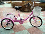 Popular Pink 24inch & 20 Inch Tricycle for Adult