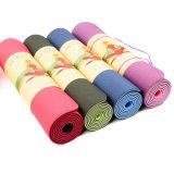 Wholesale Non Slip Eco Double Layer TPE Yoga Mat