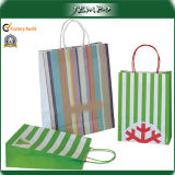 Hot Sale Paper Handle Custom Printed Kraft Paper Bags