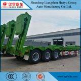 3 Axle 60t Low Loader Trailer Semi-Trailer Heavy Vehicle Factory