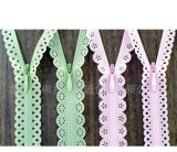 3#4# Colorful Invisible Lace Zipper for Lady