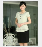 Hotel Dress Housekeeping Chefs Apparel Waitress Uniform for Lady