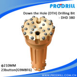 Tungsten Carbide Insert DTH Drill Bits DHD380 Dia. 210mm