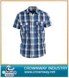 Check Plain Stripe Slim Fit Shirts in 100% Cotton