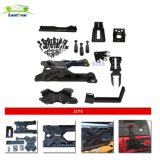 J275 Tmax HD Hinged Carrier & Adjustable Spare Tire Mounting Kit for Jeep Jk