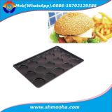 Teflon Coating Metal Non-Stick Hamburger Bun Baking Pan