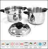 Stainless Steel Stock Pot Steamer Pasta Cooker