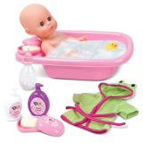 "Doll Set Fashion PVC Doll Bath Doll Set 12"" (H0318272)"