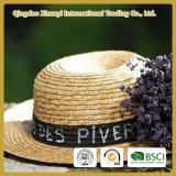 2018 Women's Straw Hat Wide Brim Summer Beach Boho Sun Protection Letter Sunhat
