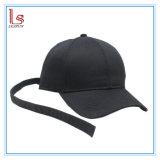 Wholesale Logo Print Black Long Strap Youth Boys Baseball Caps Dad Hats